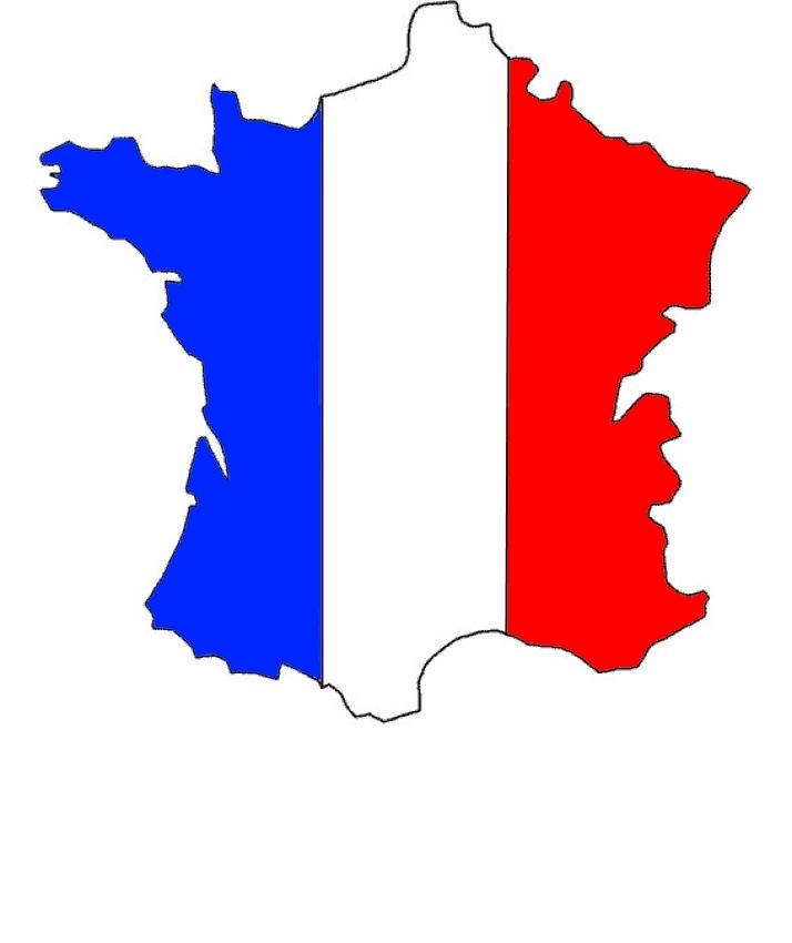 Cartina Muta Della Francia.Francia