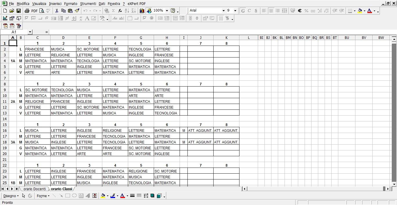 Risorse e materiali per insegnanti for Registri i piani del garage