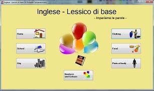 avvio Inglese - Lessico di base