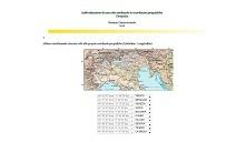 es. coordinate geografiche (Italia sett.)