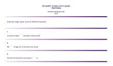 ortografia gruppi ce/cie e ge/gie