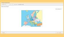 quiz online sull'individuazione degli Stati europei