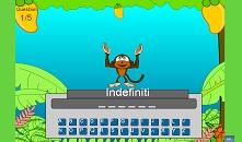 gioco quiz su pronomi e aggettivi