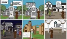 fumetto su Lutero e la Riforma