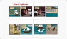 fumetti su argomenti di storia: Pizarro e Incas