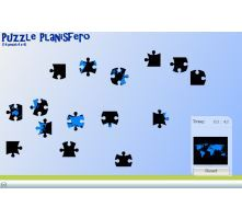 puzzle planisfero