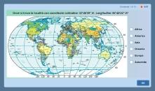 quiz sulle coordinate geografiche (mondo)