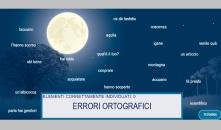 grammatical case individuazione degli errori ortografici